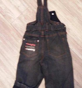 Комбинезон джинсовый (74-80)
