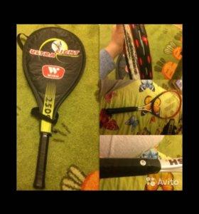 Ракетка теннисная wish  и мячи 🎾