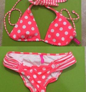 Victoria's Secret купальник верх S и XS плавки