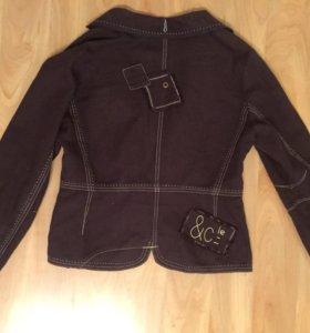 Пиджак лёгкий стильный