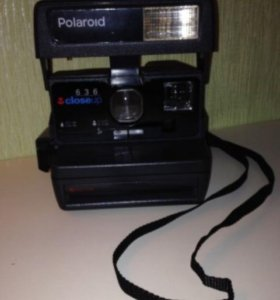Polaroid с автофокусом в отличном состоянии
