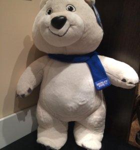 Олимпийский плюшевый медведь Сочи 2014- 55 см