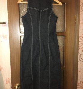 Джинсовое платье Versace jeans,размер 42