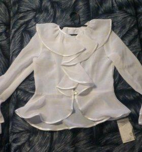 """Блуза """"школьная"""" нарядная."""