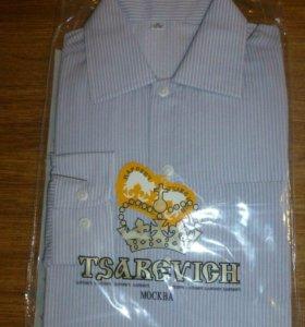 Рубашка новая МФ ЦАРЕВИЧ 110-116