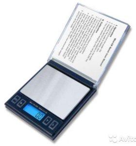 Весы ювелирные электронные карманные 2000 г/0.1 г