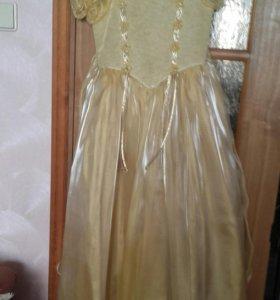 Платье детское вечернее рост 122-128