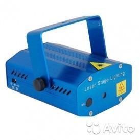 Лазерный проектор для дискотек и баров