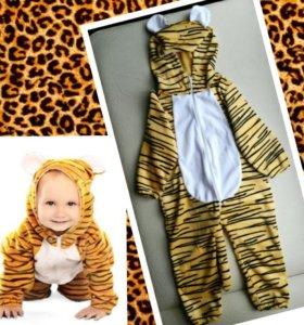Новогодний костюм тигренка прокат