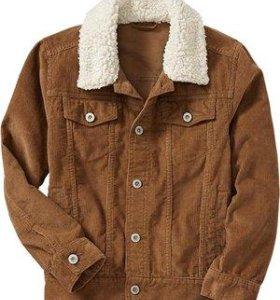 Новая вельветовая куртка OldNavy, 42_44