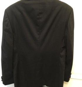 Клубный пиджак удлиненный 100%шерсть studio italia
