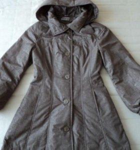 Новое плащ-пальто,40-42 р-р