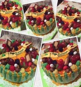 Нежные вкусные тортики