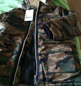 Куртка the brand новая 104/110 116/122