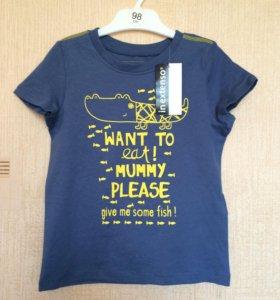 Новые футболки 92-104