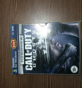 Диск Call of Duty ghost DVD 1 русская | PC
