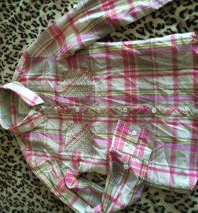 Рубашка на девочку лет 13