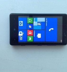 Nokia lumia 820.