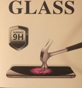 Ударопрочное стекло для iPhone 5/5S/5C. GLASS Pro+