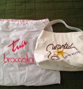 Сумка летняя Braccialini, новая