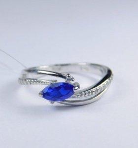 Кольцо, серебро 925°