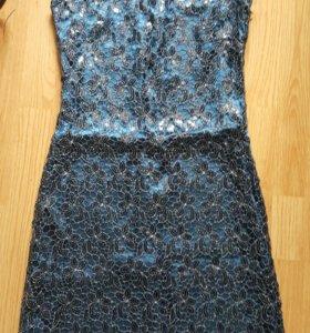 Срочно! Вечернее платье. Размер 44.