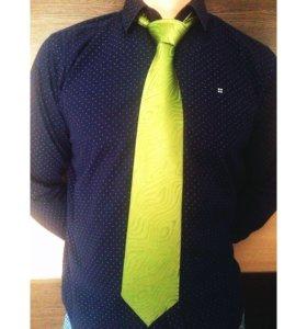 Новый галстук с биркой