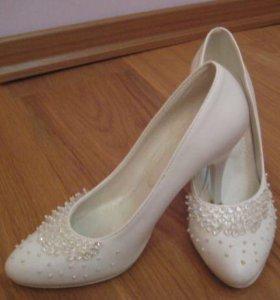Туфли свадебные 37 размер