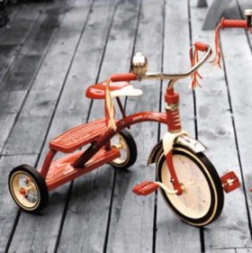 Велосипед трёхколёсный Radio Flyer Red Dual Deck T