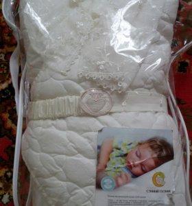 Конверт одеяло на выписку.