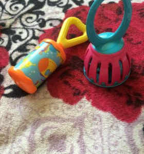 игрушки для малышей погремушки