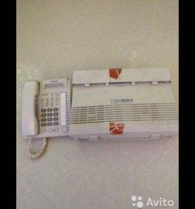 Мини атс с системным телефоном