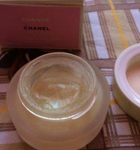 Шанель крем для тела с блестками.  Можно обмен