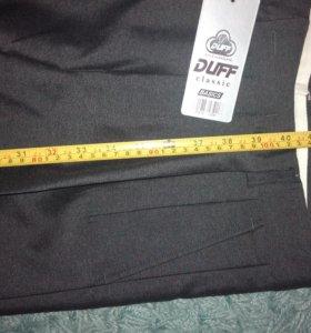 Новые брюки серого цвета