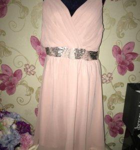 Платье нарядное  шифоновое 48-52