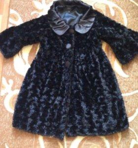 Весенне-осеннее пальто 44-46