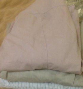 Блузки-рубашки 3 шт