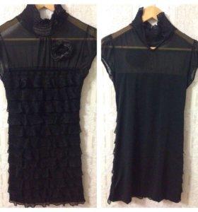 Черное платье, р. 42-44