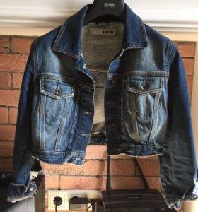 Джинсовая куртка Top shop moto