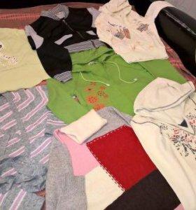 Кофточки, толстовки, свитеры 42-44