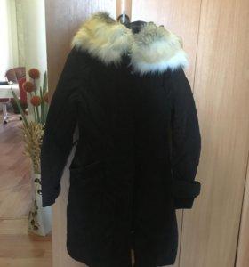 Пальто зима на 14-16 лет