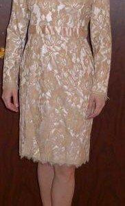 Новое кружевное платье 46 р-р