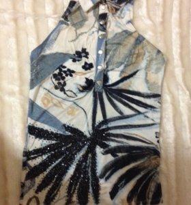 Блуза Sassofono  (фасон - рубашка)