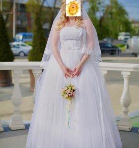 Свадебное платье-трансформер (юбка)
