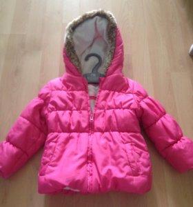 Куртка на весну-осень Mothercare