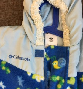 Columbia флисовый комбинезон