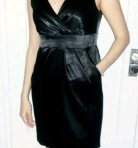 Маленькое черное вечернее платье 46р-р