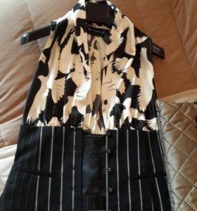 Блузка жилетка р 42