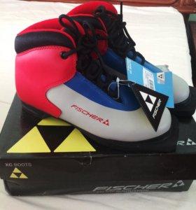 Лыжные ботинки новые