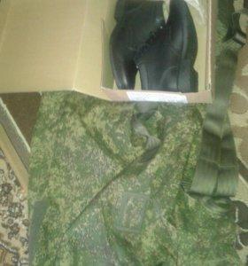 Полуботинки армейские 43р,  Баул армейский 150л,